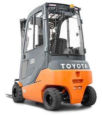 Toyota Traigo 48 Vierrad-Elektrostapler