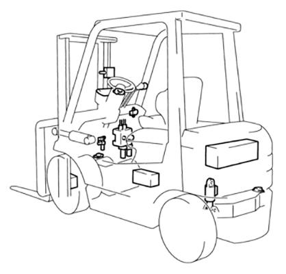 Toyota SAS System für Aktive Stabilität