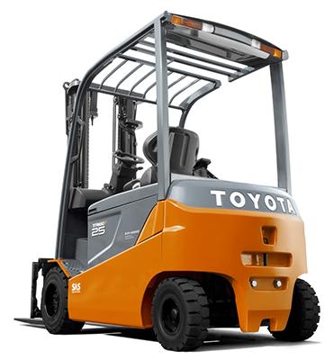 Toyota Traigo 80 Vierrad-Elektrostapler