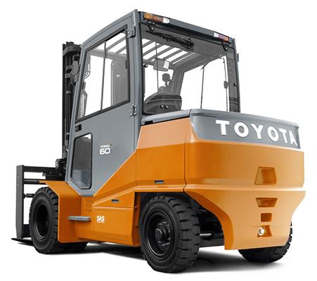 Toyota Traigo HT Vierrad-Elektrostapler